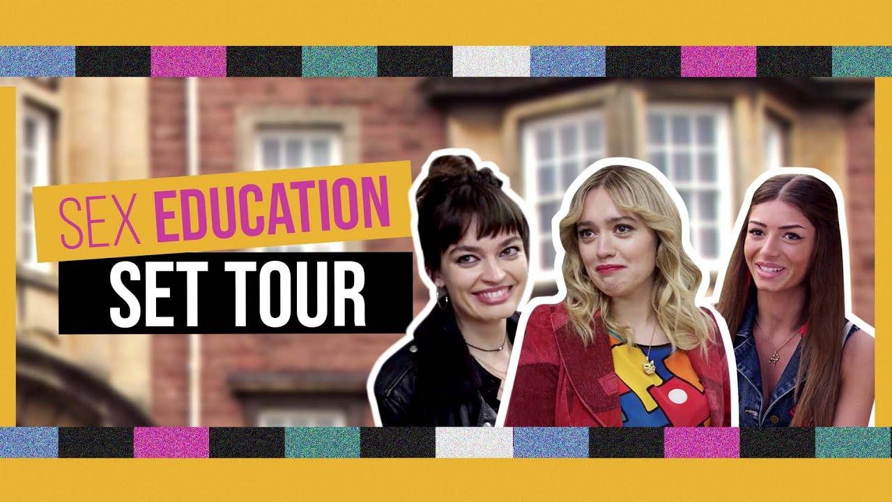 Sex Education | Season 3 Set Tour with the cast!