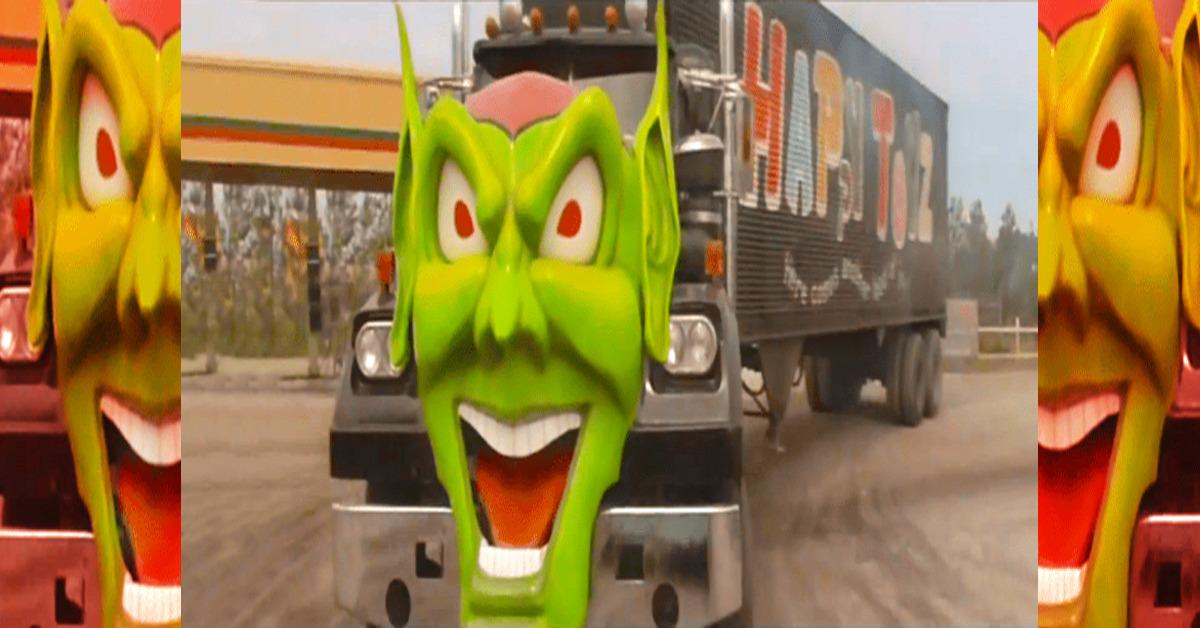EVIL Horror movies KILLER Cars (33 Photos)